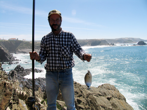 Pesca nas arribas