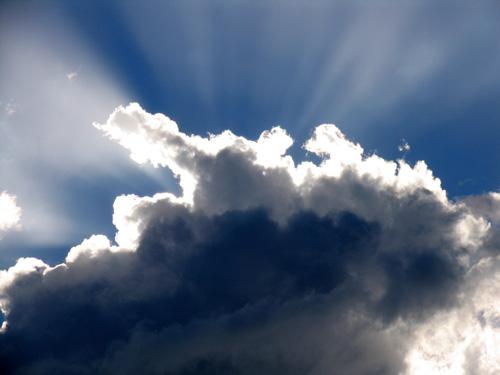 Nuvens de bom tempo