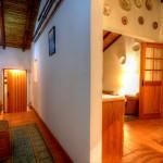 Casa - Corredor e sala